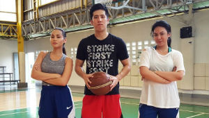 Watch: Dominique Cojuangco Plays Ball With Jeric Teng