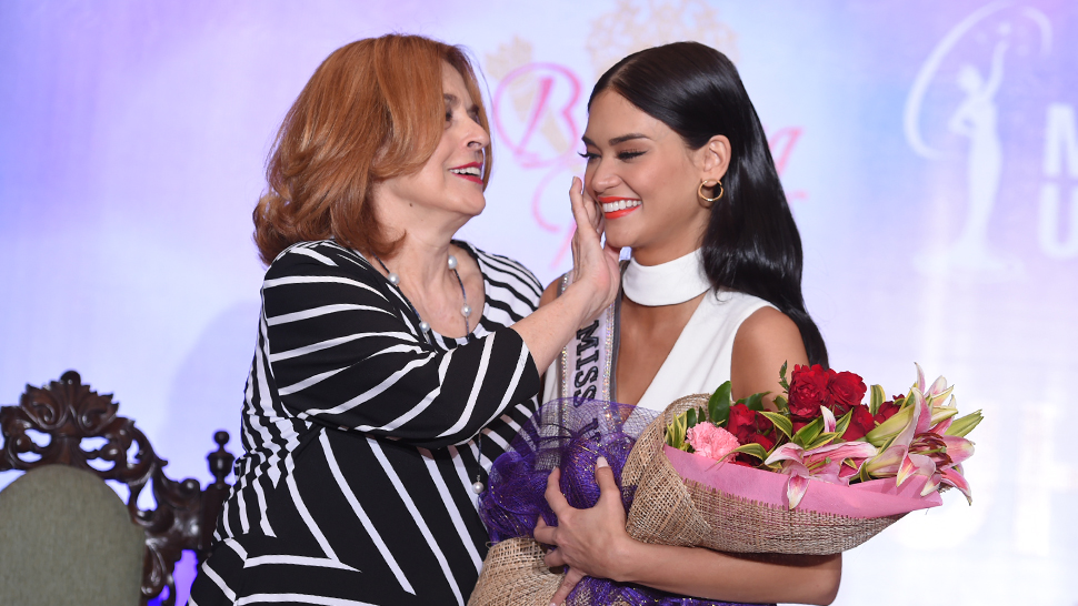 Pia Wurtzbach Gets Emotional Over Passing On The Binibining Pilipinas Crown