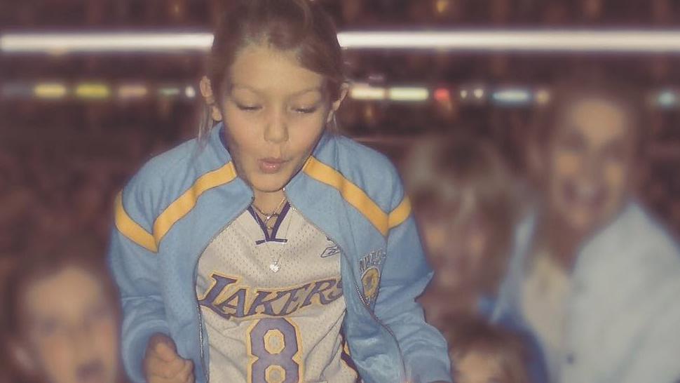 Gigi Hadid Fell in Love with Kobe Way Before She Met Zayn