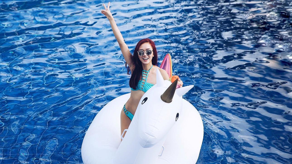 Check Out These Local Celebs and Their Floaties