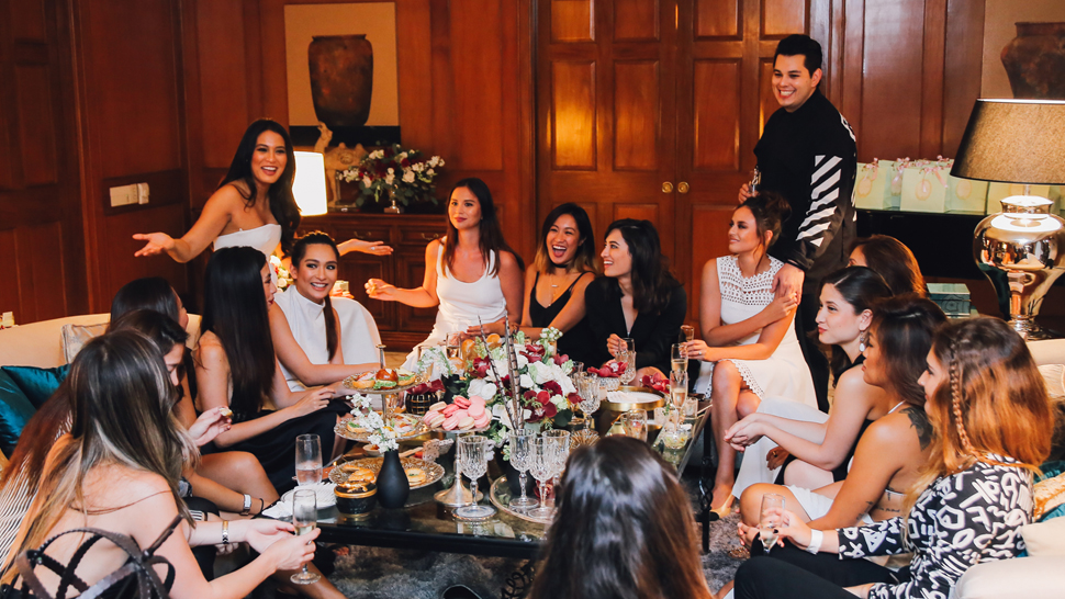 10 Things That Happened During Georgina Wilson's Bridal Shower