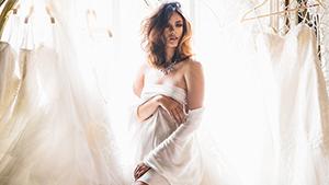 See: The Making Of Georgina Wilson's Sensually Chic Bridal Boudoir