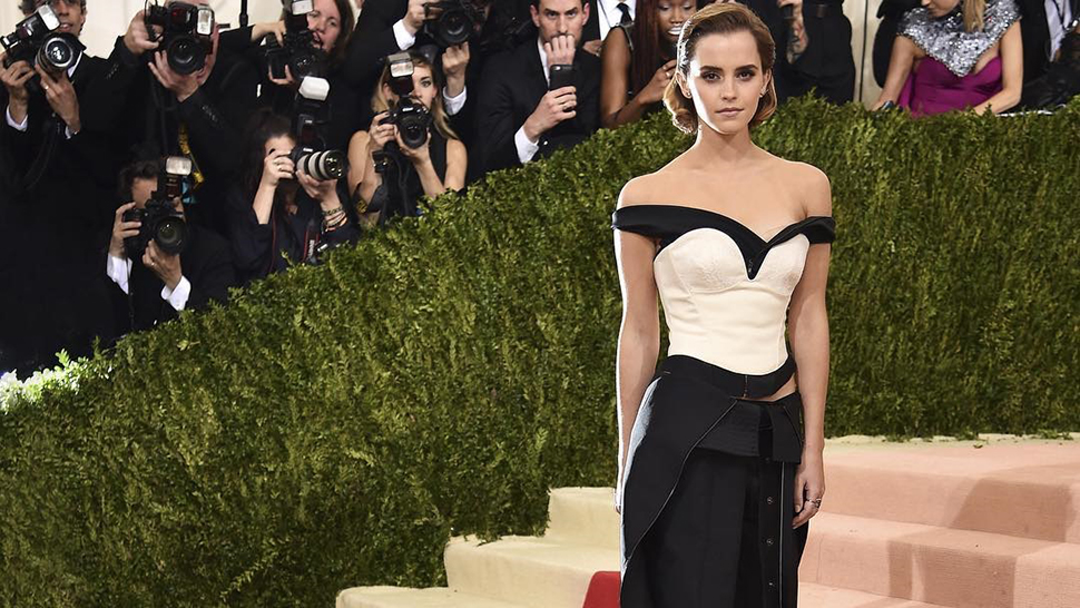 Emma Watson's Met Gala Outfit Was Made from Recycled Plastic Bottles
