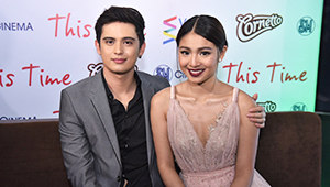 Nadine Lustre Designed Her 'this Time' Premiere Night Dress
