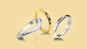 27 Minimalist Wedding Bands For The Stylish Couple