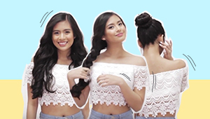 Watch: Summer Hairstyles With Gabbi Garcia
