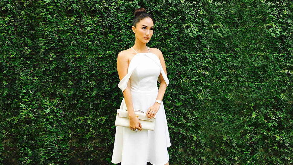 Heart Evangelista's All-white Ensemble, And More From This Week's Top Celebrity Ootds