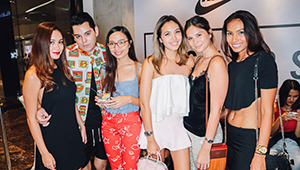 Martine Cajucom, Jess Wilson, And More At The Nike Snkrs Studio Launch