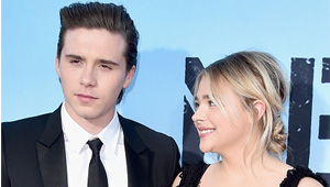 Check Out Chloe Grace Moretz And Brooklyn Beckham's Red Carpet Debut