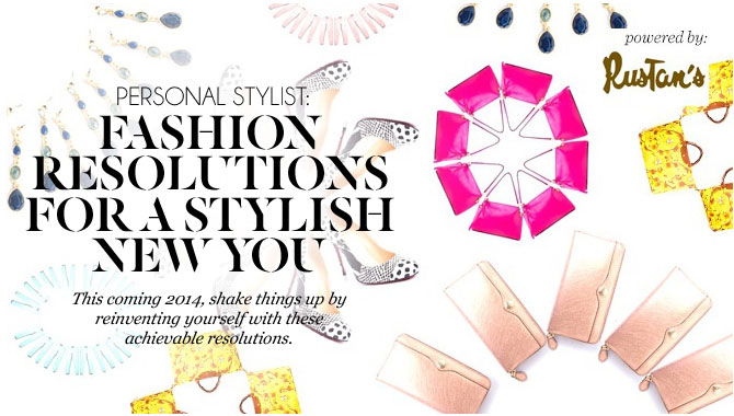 Fashion Resolutions For A Stylish New You