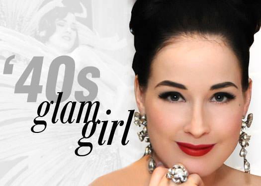 '40s Glam Girl