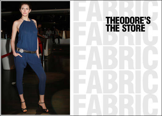 Fabric: Theodore's The Store
