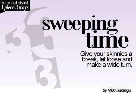 Sweeping Time
