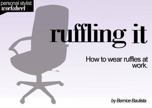 Ruffling It