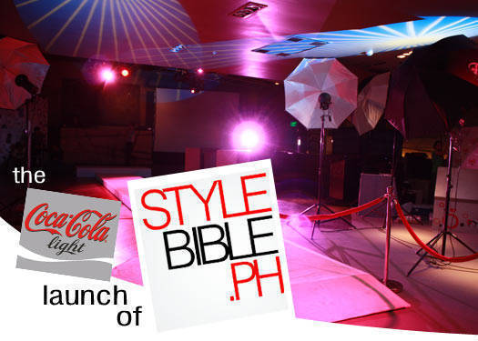 The Coca-cola Light Launch Of Stylebible.ph