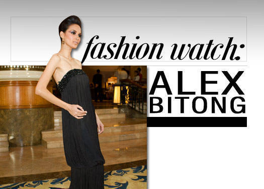 Fashion Watch: Alex Bitong