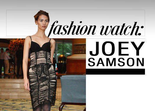 Fashion Watch: Joey Samson