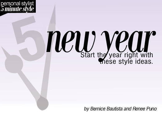 5 Minute Style: New Year