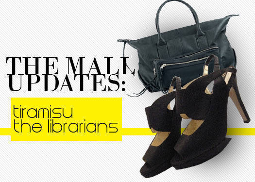 The Mall Updates: The Librarians And Tiramisu