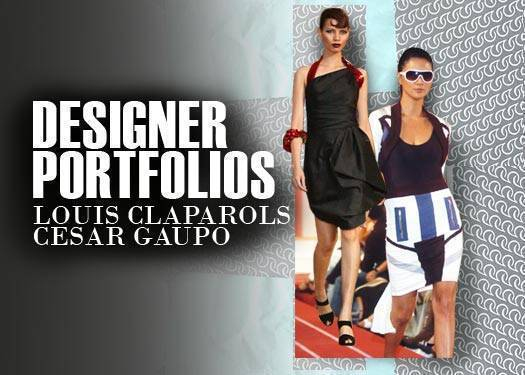Designer Portfolios: Louis Claparols And Cesar Gaupo