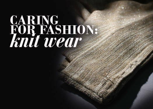 Caring For Fashion: Knitwear