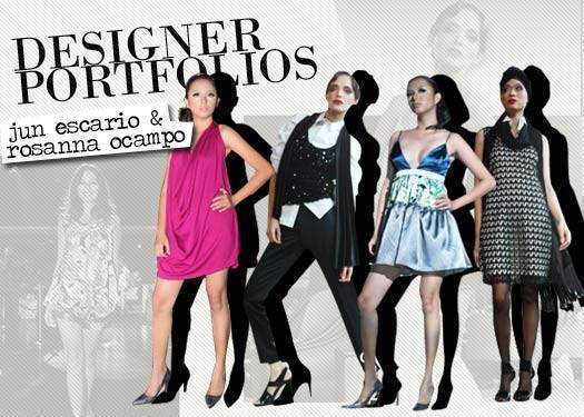 Designer Portfolios: Jun Escario And Rosanna Ocampo