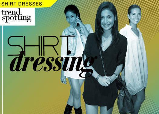 Shirt Dressing