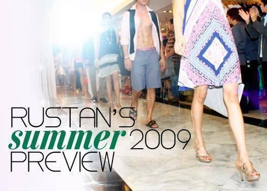 Rustan's Summer  2009 Preview
