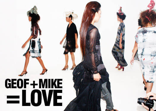 Geof + Mike = Love