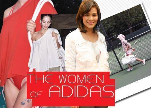 The Women Of Adidas