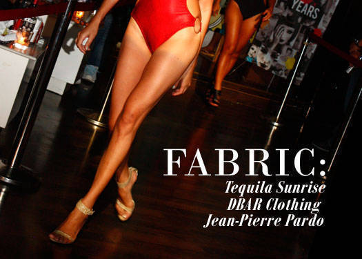 Fabric: Tequila Sunrise, Dbar Clothing, And Jean-pierre Pardo