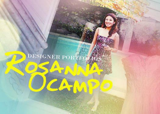 Designer Portfolios: Rosanna Ocampo