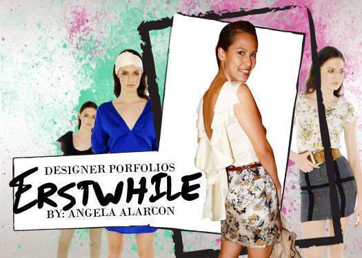 Designer Portfolios: Erstwhile By Angela Alarcon