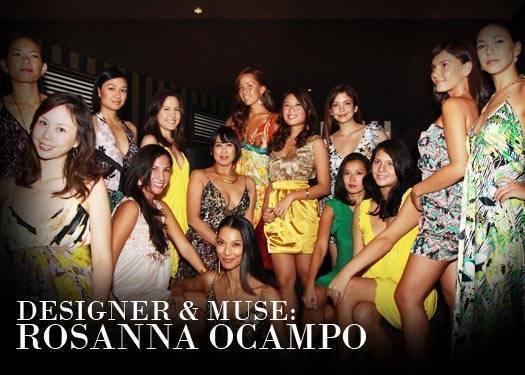 Designer & Muse: Rosanna Ocampo