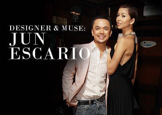 Designer & Muse: Jun Escario