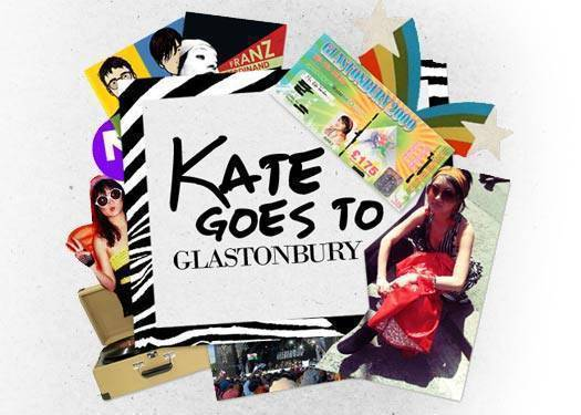 Kate Goes To Glastonbury