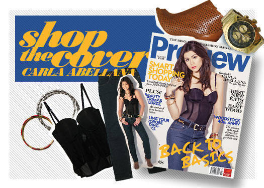 Shop The Cover: August 2009