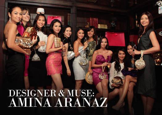 Designer & Muse: Amina Aranaz-alunan