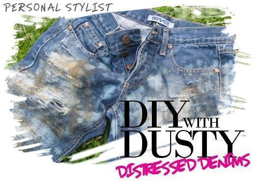 Diy With Dusty: Distressed Denims