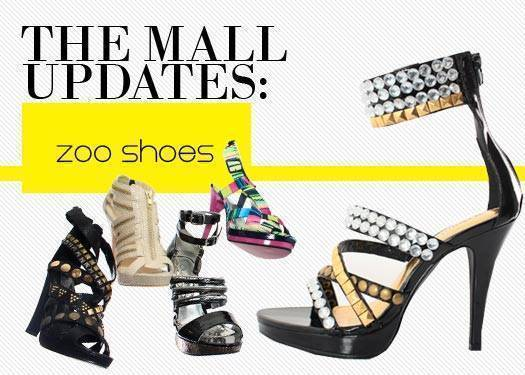 The Mall Updates: Zoo Shoes