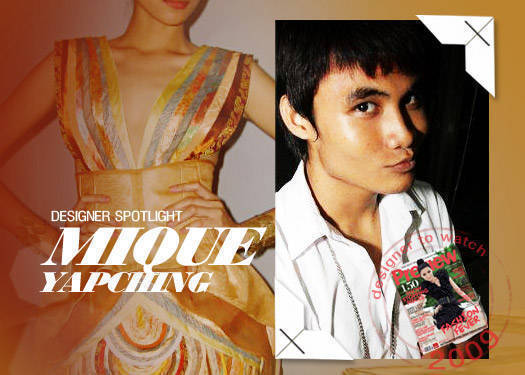 Designer Spotlight: Mique Yapching