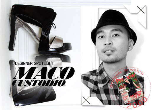 Designer Spotlight: Maco Custodio