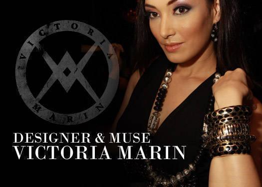Designer & Muse: Victoria Marin