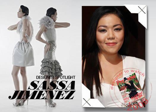 Designer Spotlight: Sassa Jimenez