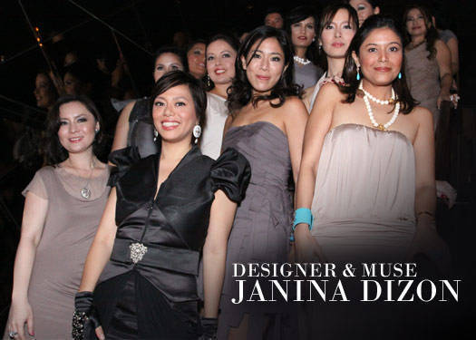 Designer & Muse: Janina Dizon-hoschka