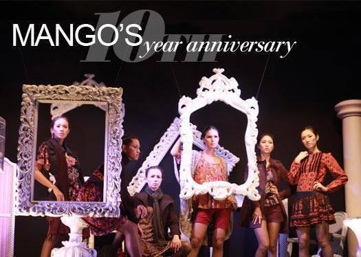 Mango's 10th Year Anniversary