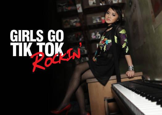 Girls Go Tik Tok Rockin'