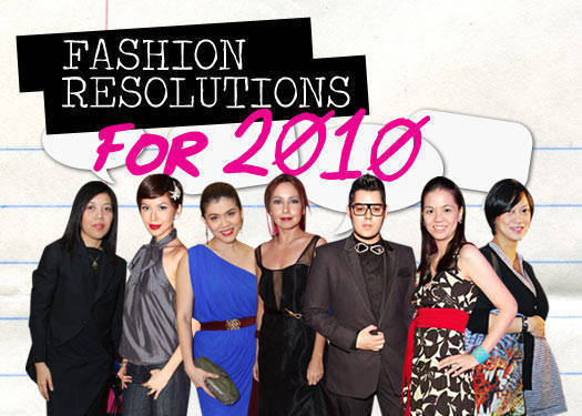 Fashion Resolutions For 2010