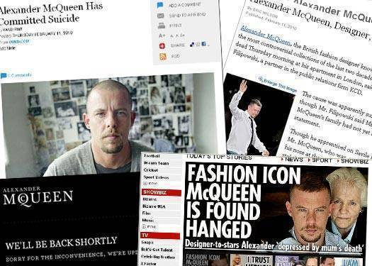 Alexander Mcqueen Has Passed On