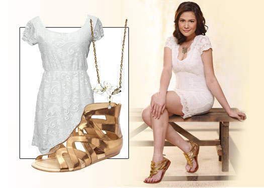 Bea Alonzo's Little Lace Dress